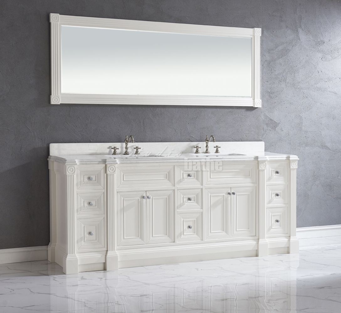 84 inch bathroom vanity cabinets in ri deebonk for Bathroom cabinets 84 inches