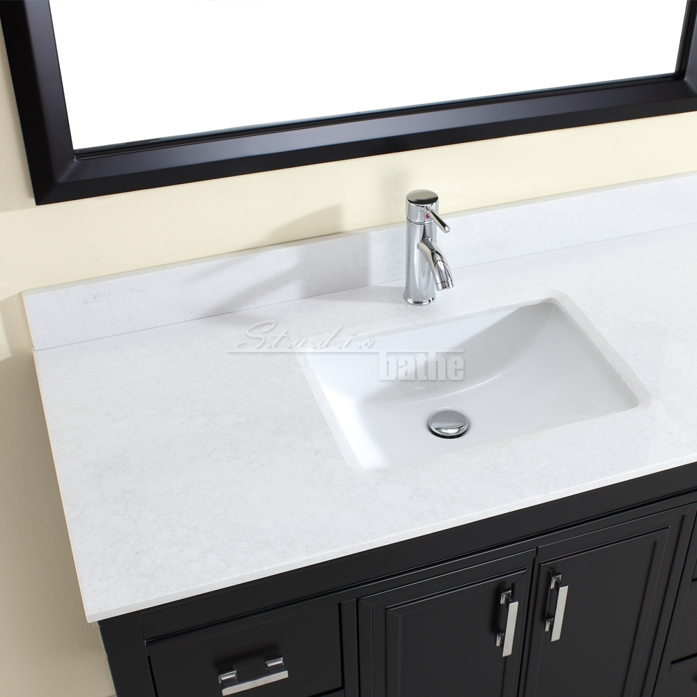 ... French Gray Single Sink Vanity By Studio Bathe Bath Vanities Country.  Bathroom Exciting Bath Vanities For Your Storage Design. Corniche 48  Espresso. 48 ...