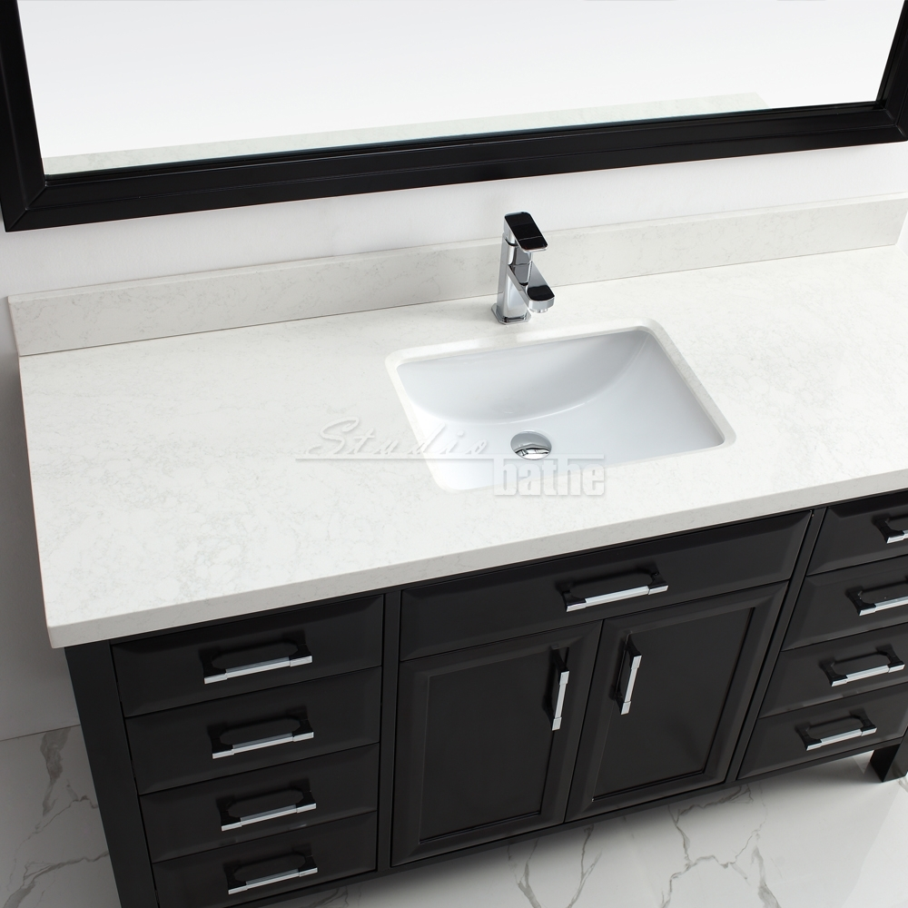 Calais 60 espresso for All in one bathroom vanity