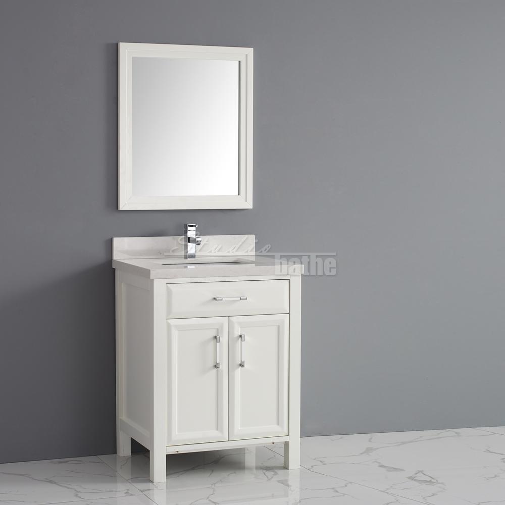Single Bathroom Vanity With Drawers