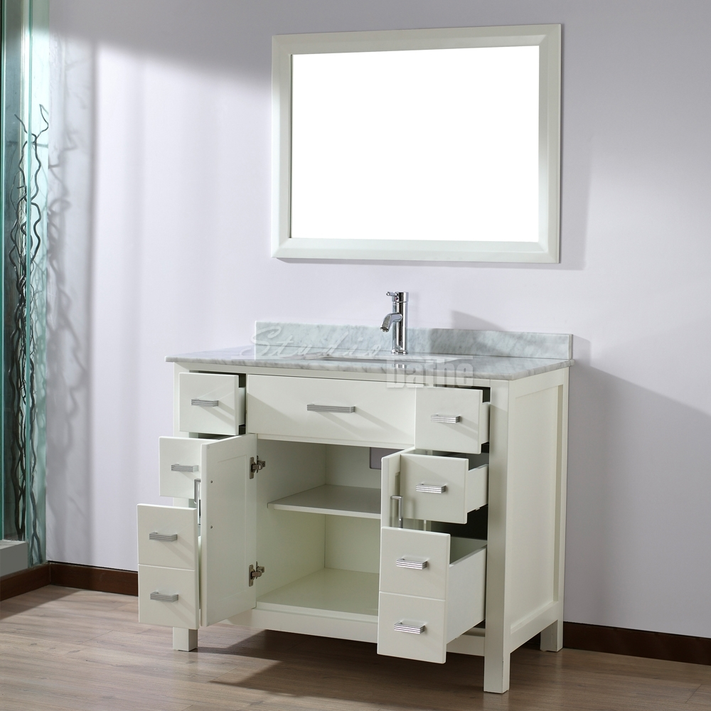 Undermount Bathroom Sink Vanity